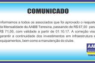 comunicado rejuste